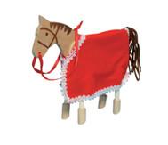 Biegepüppchen Pferd