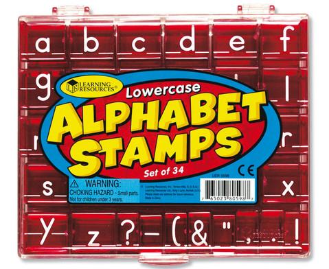 Alphabet-Stempel Kleinbuchstaben-1