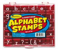 Alphabet-Stempel: Kleinbuchstaben