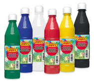 6er-Set Tempera-Farben à 500 ml, in 6 Farben