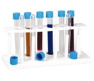 Reagenzglas-Ständer inkl. 6 Reagenzgläser