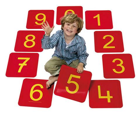 Zahlenfelder von 0 - 20-1