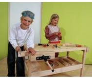 Werkbank in Kindergrösse