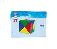 5 Magnetwürfel-Spielkarten