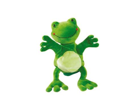 Handpuppe Frosch