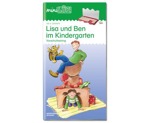 miniLUEK-Heft Lisa und Ben im Kindergarten