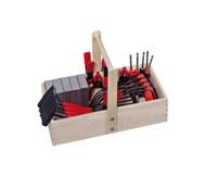 Werkzeug-Set mit Holzkiste