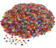 1 kg transparente Mosaiksteine (Kunststoff)