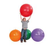 5 Riesen-Luftballons in 5 Farben