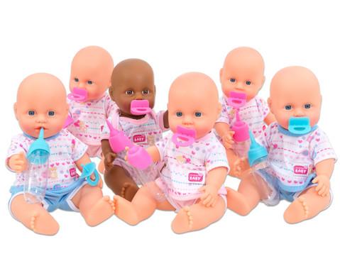 Puppen-Set 6 Stueck