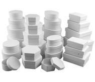 Pappschachteln, Sparset mit 168 Stück