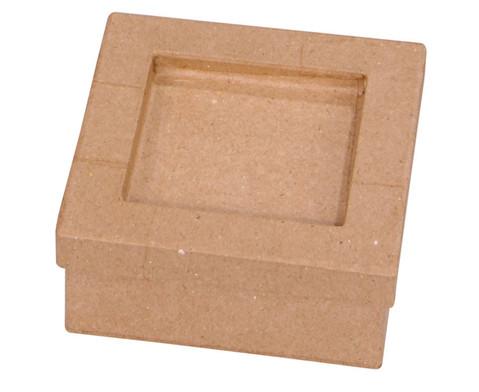 4 Pappschachteln mit Mosaikfeld blanko-1