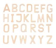 26 Holz-Buchstaben A - Z