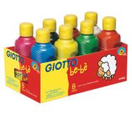 8 Temperafarben - Giotto Bé-Bé Super Paint