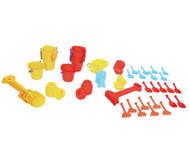 Jumbo Pack Krippen Sandspielzeug, 72 teilig