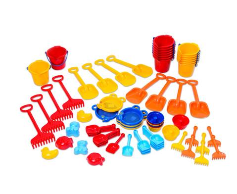 Jumbo Pack Krippen Sandspielzeug 72-tlg