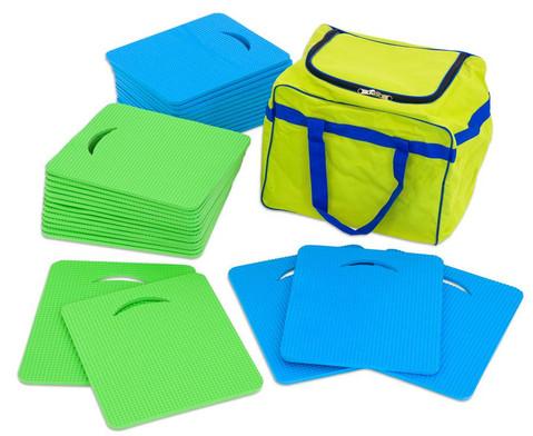 Sitzmatten-Set 31tlg inkl Tasche