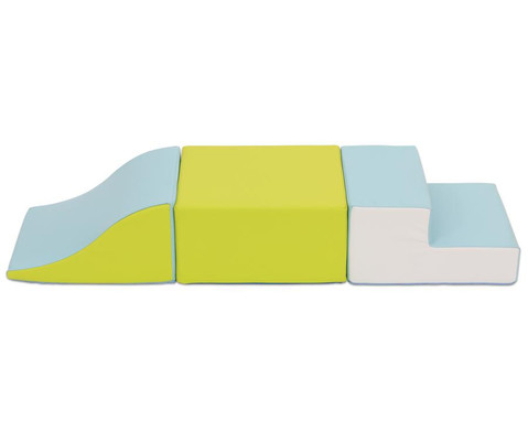 Baumodul Mabel 3-teilig Bezug Kunstleder schwer entflammbar