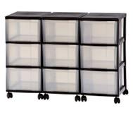Container-System mit 9 grossen Schüben