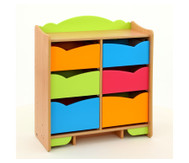 6-fach Ablage-Element