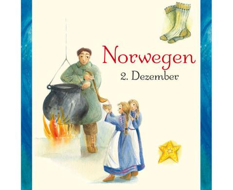 Weihnachten in aller Welt Adventskalender mit 24 Buechlein-4