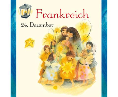 Weihnachten in aller Welt Adventskalender mit 24 Buechlein-6