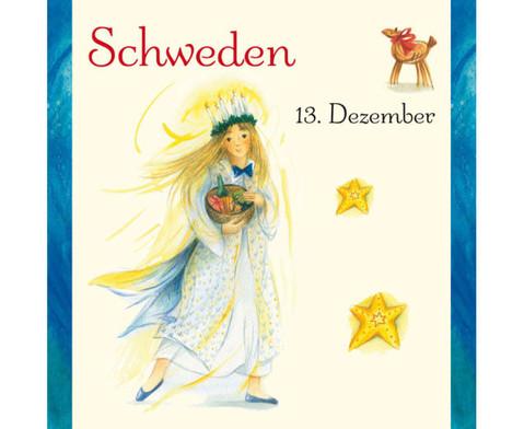 Weihnachten in aller Welt Adventskalender mit 24 Buechlein-10