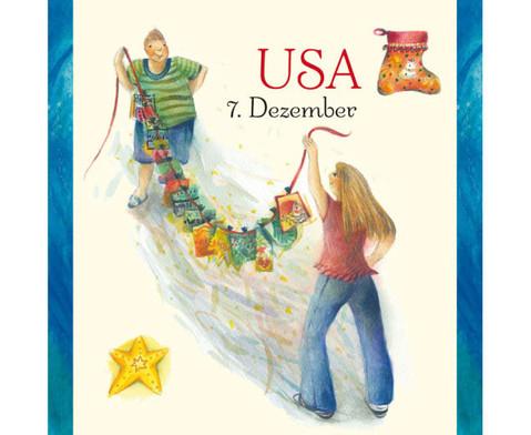 Weihnachten in aller Welt Adventskalender mit 24 Buechlein-13