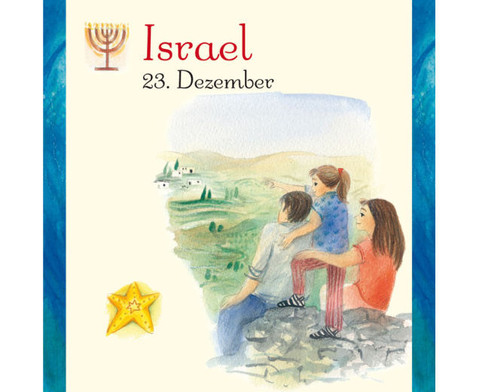 Weihnachten in aller Welt Adventskalender mit 24 Buechlein-20
