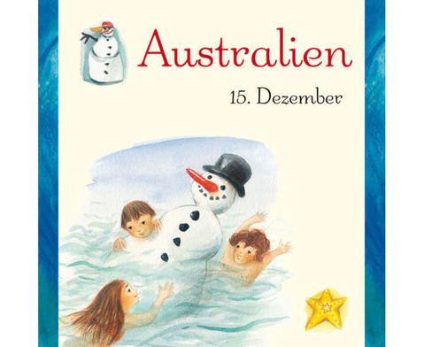 Weihnachten in aller Welt Adventskalender mit 24 Buechlein-21