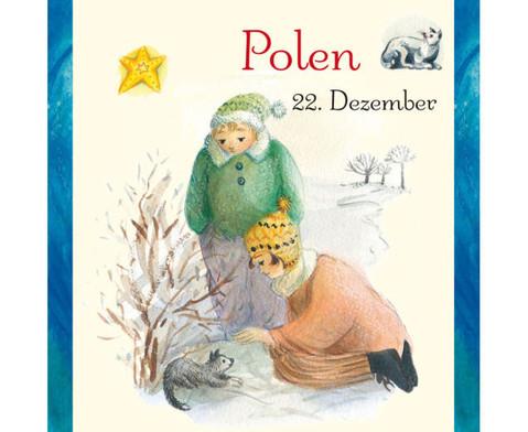Weihnachten in aller Welt Adventskalender mit 24 Buechlein-24