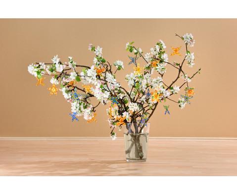 Blumen-Draht-Set orange-gelb-4