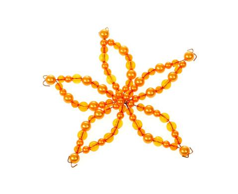 Blumen-Draht-Set orange-gelb-7