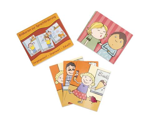 Bildkarten zur Sprachfoerderung Vergangenheit - Gegenwart - Zukunft