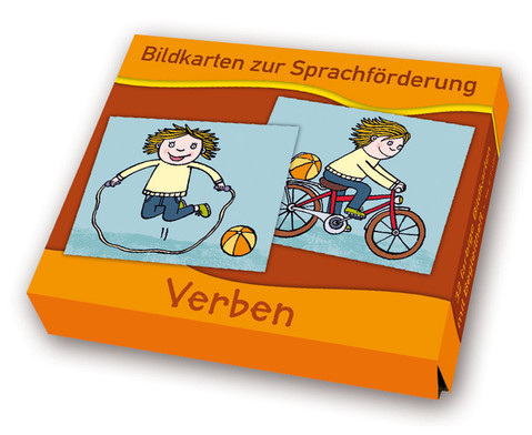 Bildkarten zur Sprachfoerderung Verben