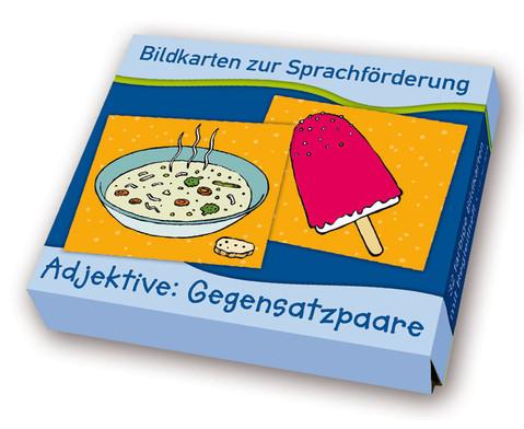 Bildkarten zur Sprachfoerderung Adjektive Gegensatzpaare