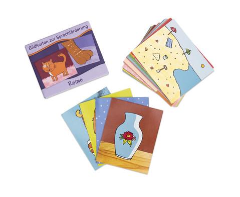 Bildkarten zur Sprachfoerderung Reime