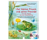 Buch+CD: Der kleine Frosch und seine Freunde