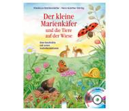 Buch+CD: Der kleine Marienkäfer und die Tiere auf der Wiese