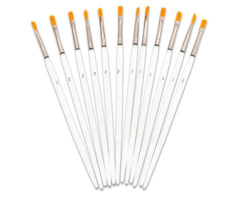 Synthetikhaar-Pinsel 12 Stueck-4