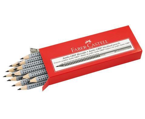 FABER-CASTELL Jumbo-Grip-Bleistift  10 mm 12er-Pack