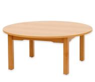 Runder Tisch, 70 cm hoch