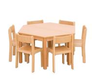 Möbel-Sparset Trapo - Sitzhöhe 34 cm