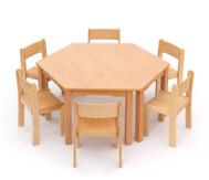 Möbel-Sparset Trapo - Sitzhöhe 42 cm