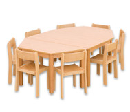 Möbel-Sparset Batur - Sitzhöhe 42 cm