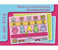 In der Kita, Sprachförderung mit Bildkarten
