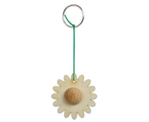 Schluesselanhaenger Blume 24 Stueck-3