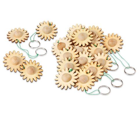 Schluesselanhaenger Blume 24 Stueck-1