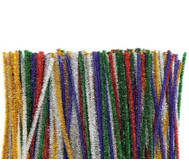Metallic-Chenilledraht/ Pfeifenputzer in 5 Farben