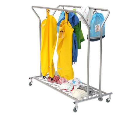 Fahrbare Garderobe-5